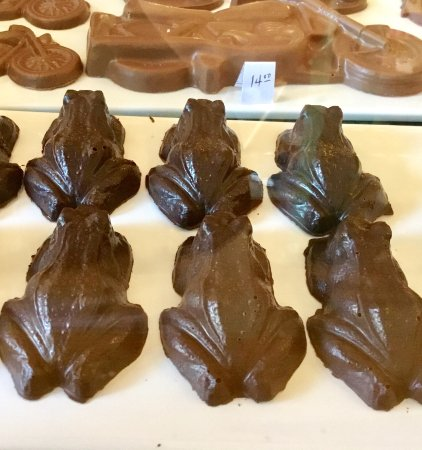 Victoria, Kanada: Chocolate frogs