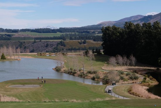 Windwhistle, Nuova Zelanda: View from the restaurant