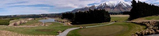 Windwhistle, Nova Zelândia: Breathtaking view of Terrace Downs