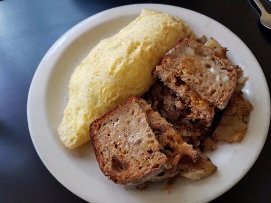 Bob's Diner: Greek omelet