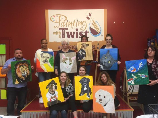 Paint Your Pet Picture Of Painting With A Twist Wilmington Tripadvisor