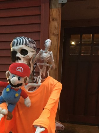 Woodstock, NH: Mario at the RRR,