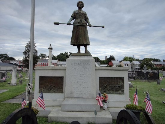 Carlisle, Pensilvania: Molly Pitcher grave site, adjacent to the brewery