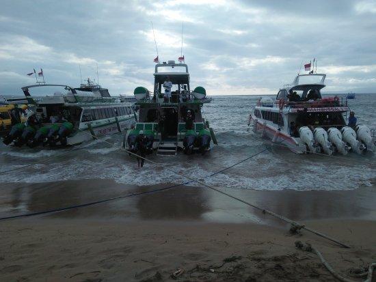 Lovina Beach, Indonesien: Exspress Boat to Nusa lembongan, Nusa Penida.