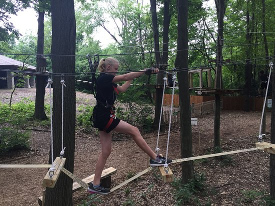 West Bloomfield, MI: Learning the ropes