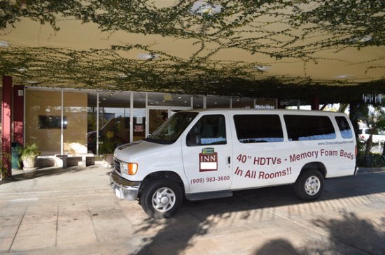 Ontario Airport Inn: Shuttle to the Ontario Airport (ONT) and the Ontario Convention Center