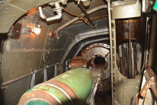 La Porte, TX: inside #1 turret