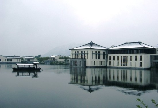 Fuyang, الصين: Winter at Fuchun Resort
