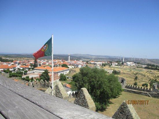 Trancoso, Portugal: Castelo, vistas