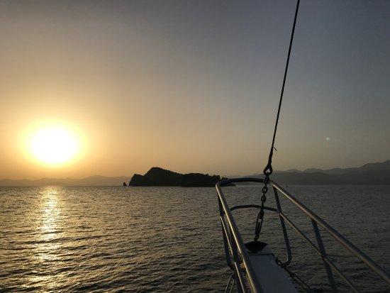 Orka Sunlife Hotel: Sunset over the Aegean, taken near Fethiye.