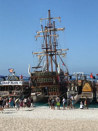 Orka Sunlife Hotel: The Dragon pirate ship, a great day out, fantastic value for money