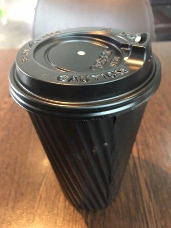 Burwood, Australia: Takeaway cappuccino