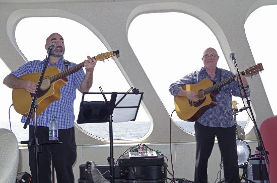 Yarmouth, Canada: Celtic Rant, performing on The CAT Ferry.