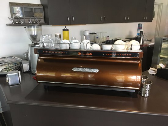 Burwood, Avustralya: Coffee machine