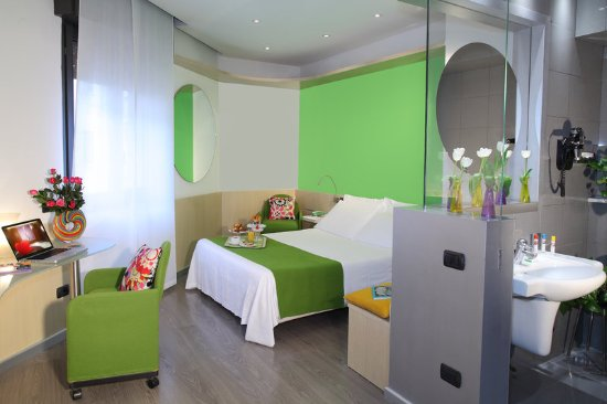 Hotel Mediolanum Milan: Standard Room at Hotel Mediolanum