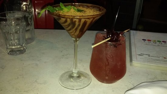Rosemont, IL: Mint Chocolate Martini / PEACE, LOVE & HARMONIE Margarita