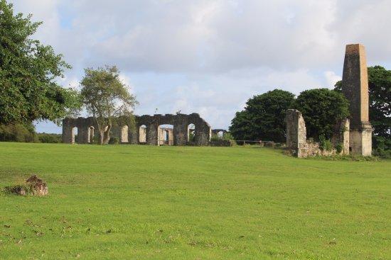 Marie-Galante, Guadeloupe: Ruines