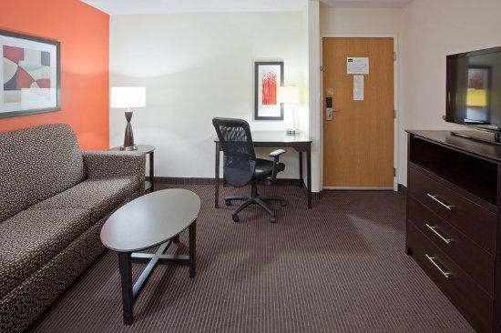Americ Inn Apple Valley Room Suite Living Room