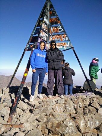 Imlil, Marrocos: At the summit