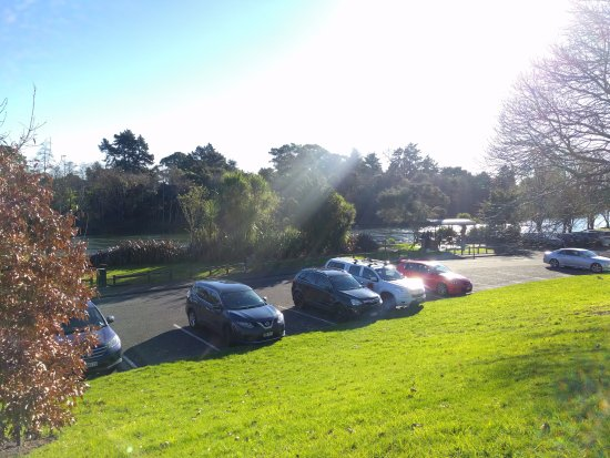 Hamilton, New Zealand: Carpark