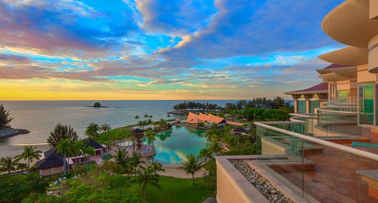 Kampong Jerudong, Brunei Darussalam: Sea View at The Empire Hotel & Country Club