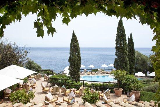 Hotel Il Pellicano: Bar Terrace Pool