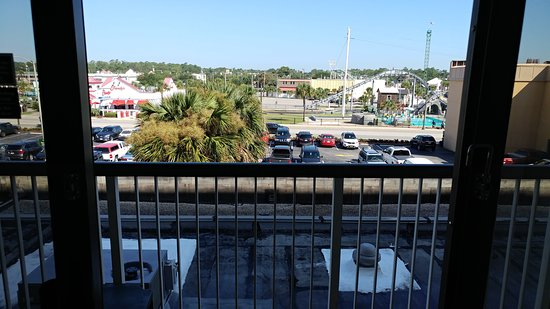 Amusement Park View Picture Of Westgate Myrtle Beach Oceanfront Resort Tripadvisor