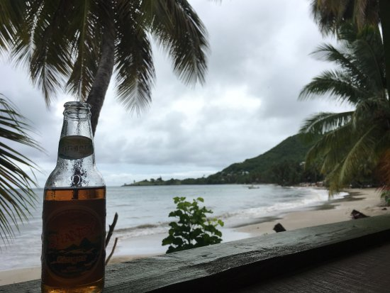 Laborie, St. Lucia: The restaurant's view