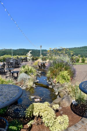 Eugene, OR: Outdoor picnic area