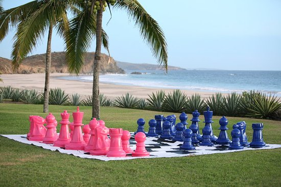 Quemaro, Mexiko: Lawn Chess