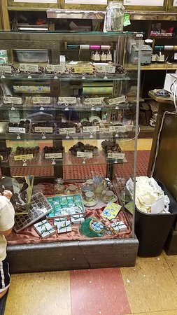 Helena, MT: The Candy display!
