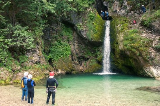Canyoning Adventure from Bled