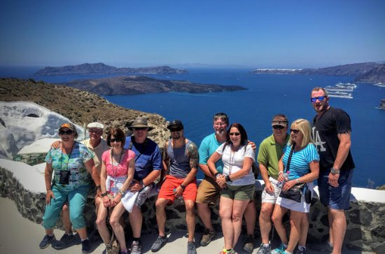 Santorini 5-Hour Island Tour with...