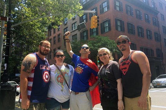 The Super Tour of NYC Heroes Comics