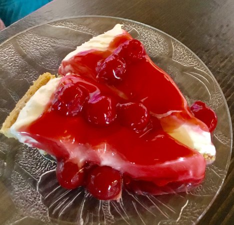 Victoria, Canadá: Cherry cheesecake