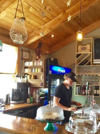 Victoria, Kanada: Our waiter