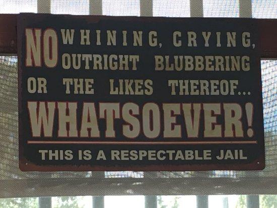 Outlaw and Lawmen Jail Museum: Fun Visit