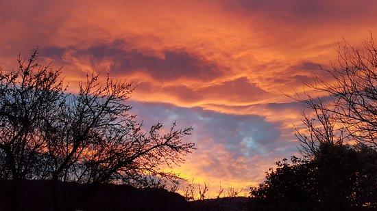 Clyde, Nouvelle-Zélande : Sunset