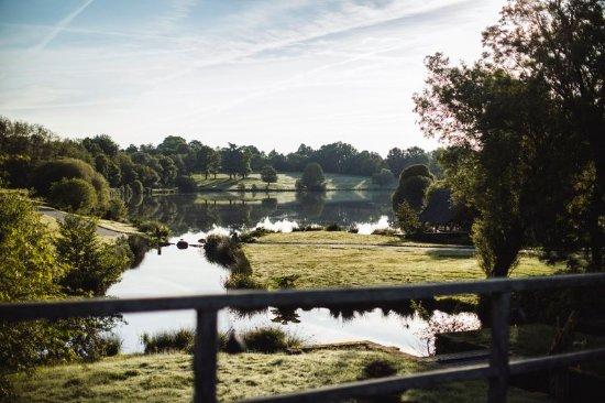 Massignac, France: Pond