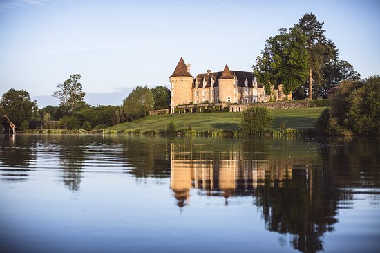 Massignac, France: View of the Chateau