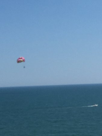 Ocean Watersports: Breathing Views from way up high!!!