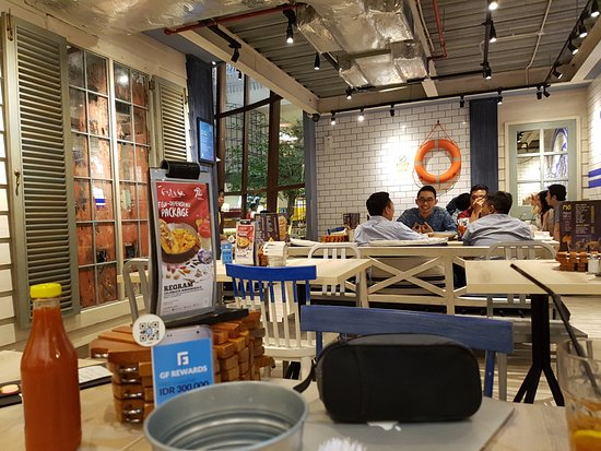 Fish co jakarta pacific place citos restaurant for Pacific fish company