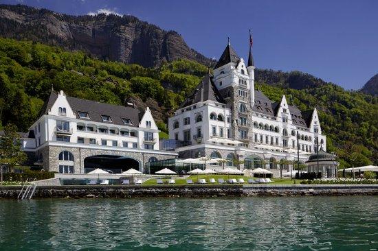 Vitznau, Suiza: Hotel Exterior