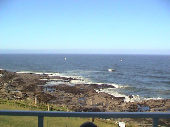 Depoe Bay, OR: Clear day, shot 1