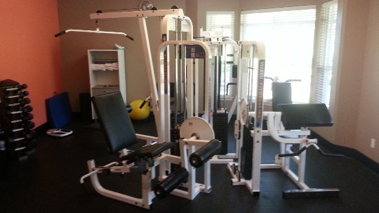 Depoe Bay, OR: In the North exercise room