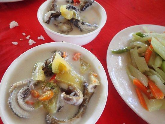 Balicasag Island, Filipinas: 海鰻魚湯