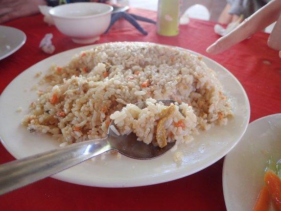 Balicasag Island, Philippines: 海膽炒飯約50顆
