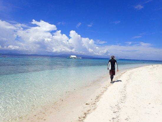 Balicasag Island, Filipinas: 當地漁夫