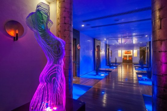 Amathus Beach Hotel Limassol: Spa Corridor