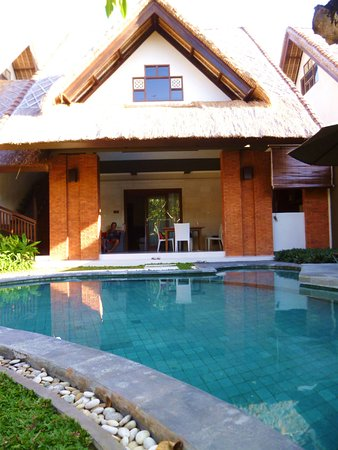 Mutiara Bali Boutique Resort & Villas: piscine privée